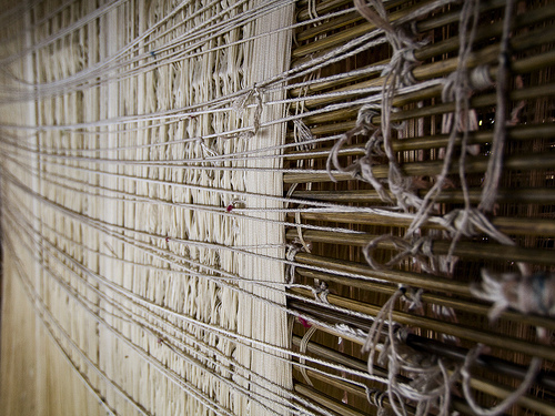 Weaving Silk